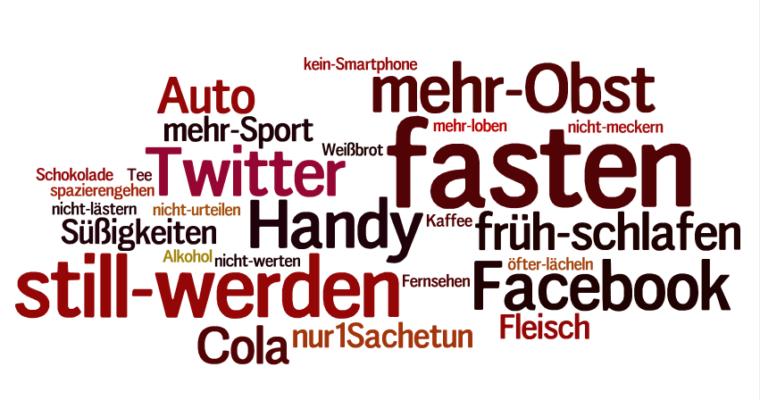 """Fastenzeit – 40 Tage """"ohne"""""""